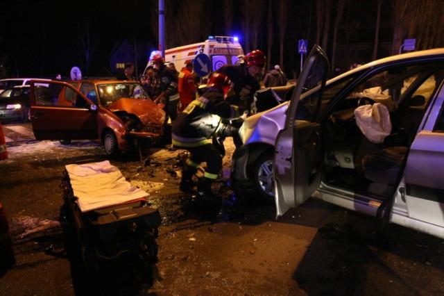 Do wypadku doszło u zbiegu ul. Kaszubskiej z ul. Sportową.