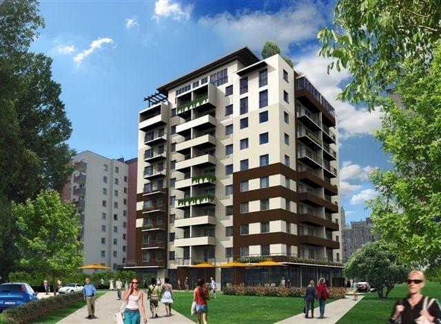 Tak będzie wyglądał apartamentowiec u zbiegu ulic Grunwaldzkiej i Jagiellońskiej
