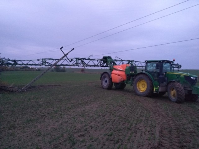 Śmiertelny wypadek w Rębielczu! Nie żyje rolnik