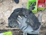 Archeolodzy znów na placu budowy torowiska. Co odkryto? ZDJĘCIA