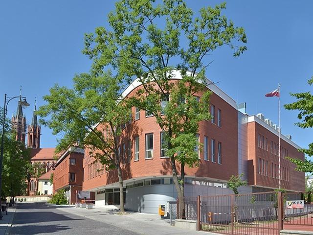 Centrum Wystawienniczo-Konferencyjne Archidiecezji Białostockiej. Na jego dachu zamontowana zostanie instalacja fotowoltaiczna