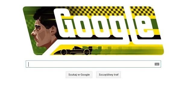 Ayrton Senna miałby dziś 54 lata. Google uczciło jego pamięć
