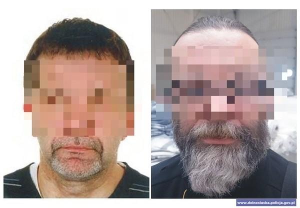 Zatrzymany 51-latek ukrywając się przed policją wielokrotnie zmieniał swój wygląd