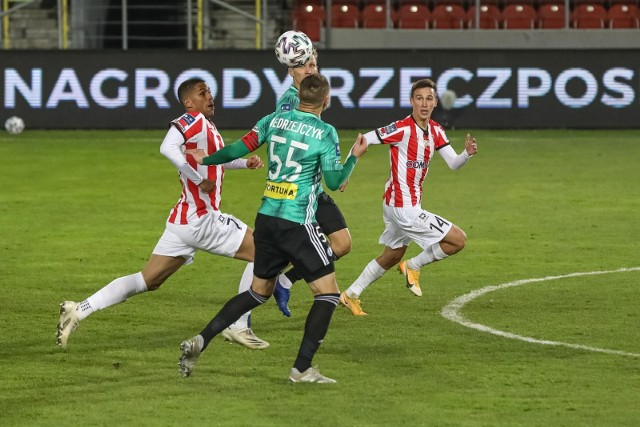 W meczu z Legią nie miał kto zdobyć gola dla Cracovii