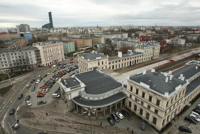 Sroczyńska: Zaprojektowany jest nowy układ ulic obsługujący zabudowę mieszkaniową o skali śródmieścia wrocławskiego z kilkoma wysokimi budynkami