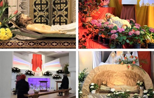 Tak wyglądają Groby Pańskie z kościołów w Inowrocławiu