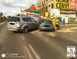 Wypadek w Złocieńcu. Zderzyły się dwa samochody [ZDJĘCIA]
