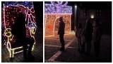 Świąteczny weekend w Niechorzu. Spacerowiczów nie brakowało. ZDJĘCIA iluminacji