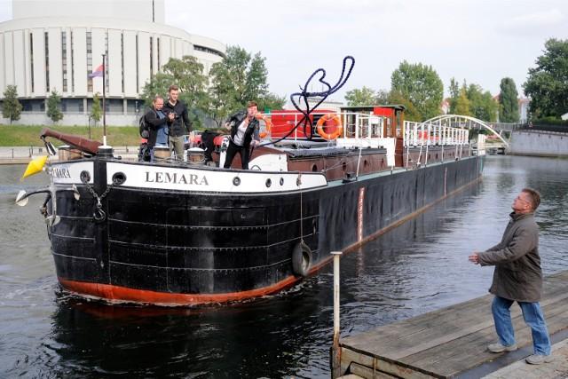 """Miasto już posiada barkę """"Lemara"""". Czy wzbogaci się o dwie kolejne?"""