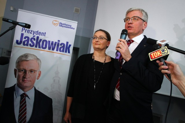 Wybory samorządowe 2014: Jacek Jaśkowiak z Platformy będzie nowym prezydentem