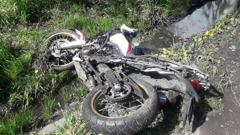 Wypadek na DK 88 w Gliwicach
