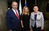 Wypadek w Izraelu w kolumnie aut z premier Beatą Szydło (zdjęcia)