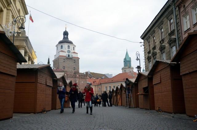 Jarmark Bożonarodzeniowy w Lublinie rozpoczyna się w piątek (19 grudnia)