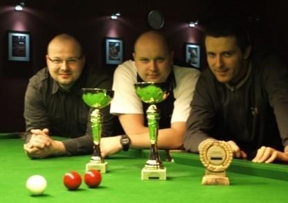 Od lewej Jacek Pańczak, Robert Szpecht i Michał Soliński.