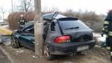 Tragiczny wypadek w Lesznie. Wracali z dyskoteki do Poznania - nie żyją dwie młode kobiety [ZDJĘCIA]