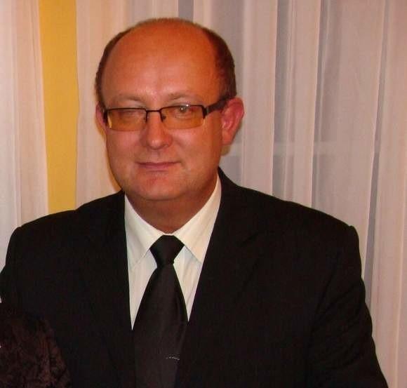 Były starosta powiatu żagańskiego Marek Ślusarski.
