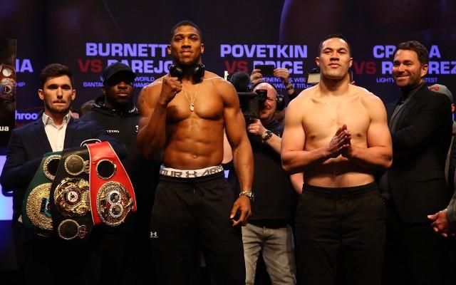 Joshua (z lewej) i Parker