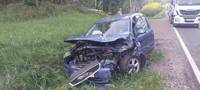 Wypadek niedaleko Horodnianki