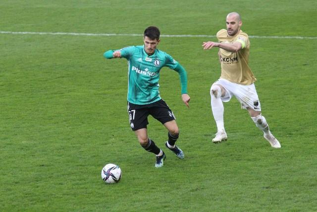 Zagłębie Lubin - Legia Warszawa (skrót, bramki, gole, wideo, wynik, relacja, zdjęcia)