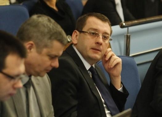 Dawid Krystek z SLD.