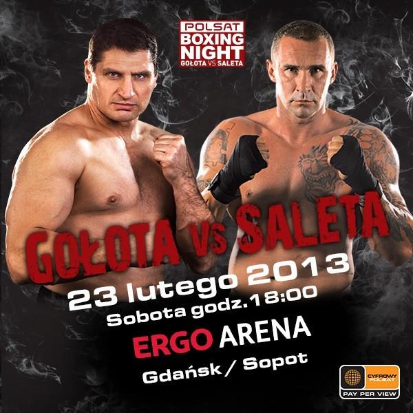 Walka Gołota - Saleta ONLINE LIVE