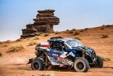 Rajd Dakar. Michał Goczał i Szymon Gospodarczyk na podium 10. etapu. Świetna jazda Energylandia Rally Team [ZDJĘCIA]