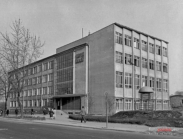 Lata 1970-1975, Lublin. Wyższa Szkoła Inżynierska - Wydział Elektryczny (Źródło: Kurier Lubelski)
