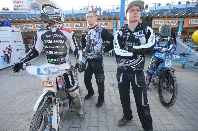 Grzegorz Zengota w sobotę po raz pierwszy wyjechał na tor