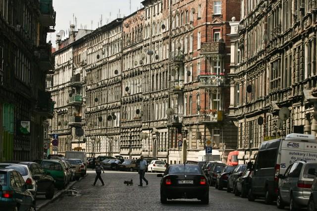 Wrocław ulica Miernicza.