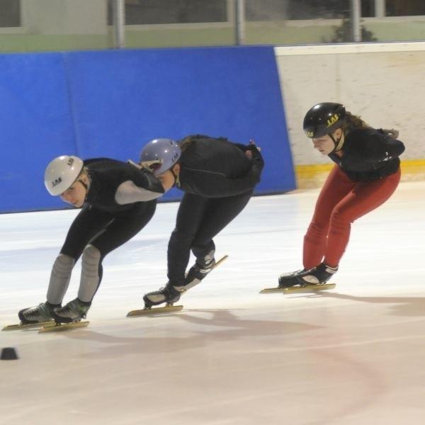 """Wczoraj na """"Toropolu"""" opolanki sposobiły się do zawodów. Od lewej: Marta Wójcik, Malwina Zawada, Natalia Grajcar i Kaja Pniewska."""