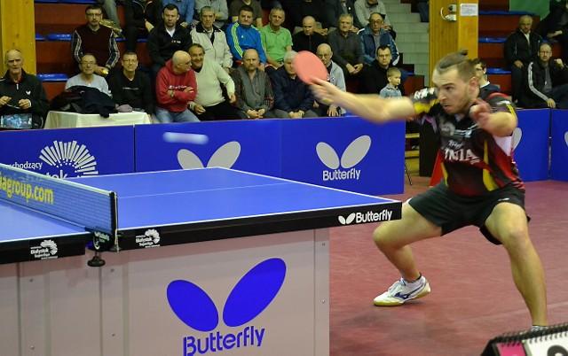 Bartosz Such, kapitan Olimpii/Unii Grudziądz, zdobył 3. punkt dla drużyny, pokonując Patryka Chojnowskiego