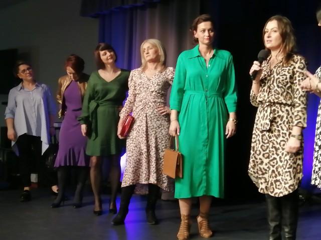 Do pokazu mody, zorganizowanego w krzeszowickiej Kopalni Talentów, zgłosiło się 10 kobiet, mieszkanek gminy