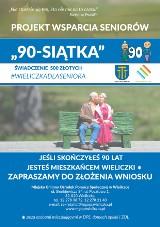 Wieliczka. 1000 zł z budżetu gminy dla mieszkańców w wieku 90+. Można składać wnioski o nowe świadczenia