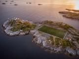 Boiska piłkarskie na niezwykłych zdjęciach z całego świata. Boisko Henningsvær,  ZDJĘCIA