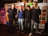 Formacja 2LATE w ramach projektu HRPP ROCKS. Zagrały też zespoły BULWAR oraz ukraiński THE HYPNOTUNEZ [Wywiad wideo]