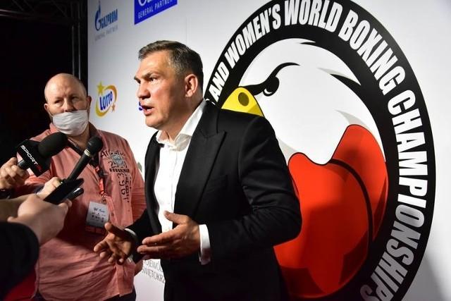 Dariusz Michalczewski będzie jedną z gwiazd na forum w Hotelu Binkowski w Kielcach.