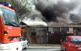 Młynowa: Pożar garaży. To mogło być podpalenie (wideo)