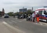 Wypadek w Łebczu (1.05.2019) - stłuczka volskwagena i volvo. Turysta wymusił pierwszeństwo [ZDJĘCIA]