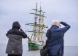 Zielony żaglowiec Alexander von Humboldt II w Gdyni. Kosztował 15 mln euro [zdjęcia]