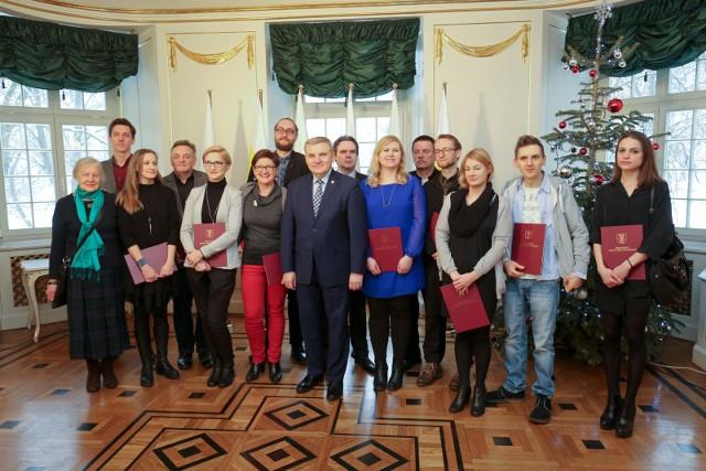 2017-01-17 bialystok stypendia prezydenta artystyczne fot. anatol chomicz / kurier poranny / gazeta wspolczesna / polska press