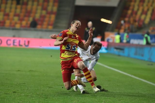 Jagiellonia przegrała u siebie z Zagłębiem Lubin 0:1