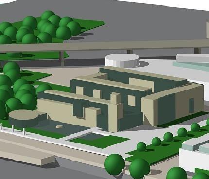 Tak miałby wyglądać przyszły magistrat, którego budowa kosztować będzie ok. 150 mln. zł. (fot. Archiwum urzędu miasta).