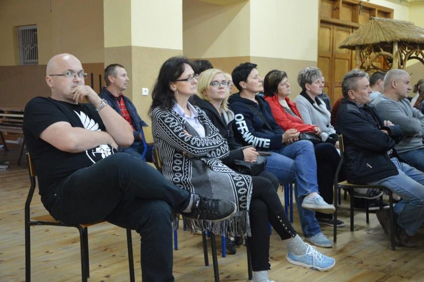 Spotkanie w domu ludowym w Zielkowicach