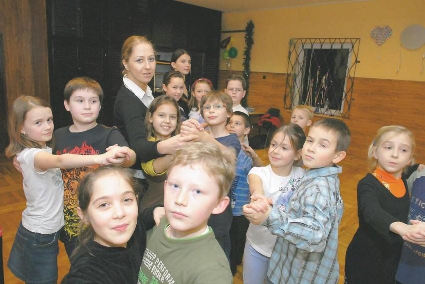 - Dzieci chętnie uczą się tańców towarzyskich - chwali małych tancerzy Dominika Jabłońska