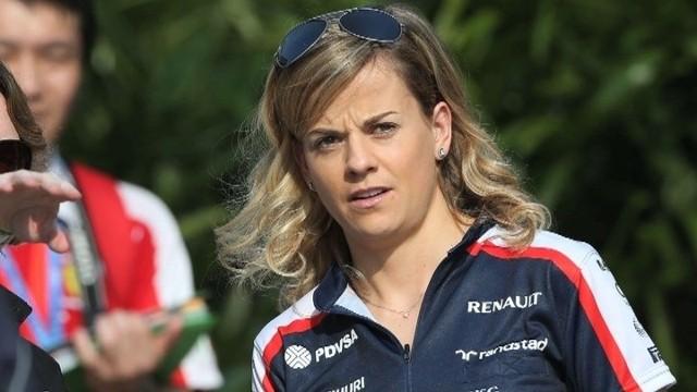 Susie Wolff - kobieta w Formule 1, przetestuje bolid Williamsa