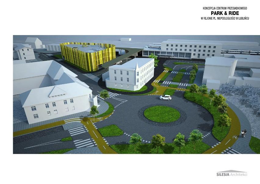 Tak będzie wyglądało centrum przesiadkowe park&ride w Lublińcu
