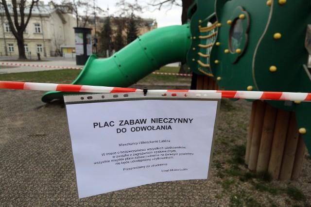 Plac zabaw w centrum Lublina