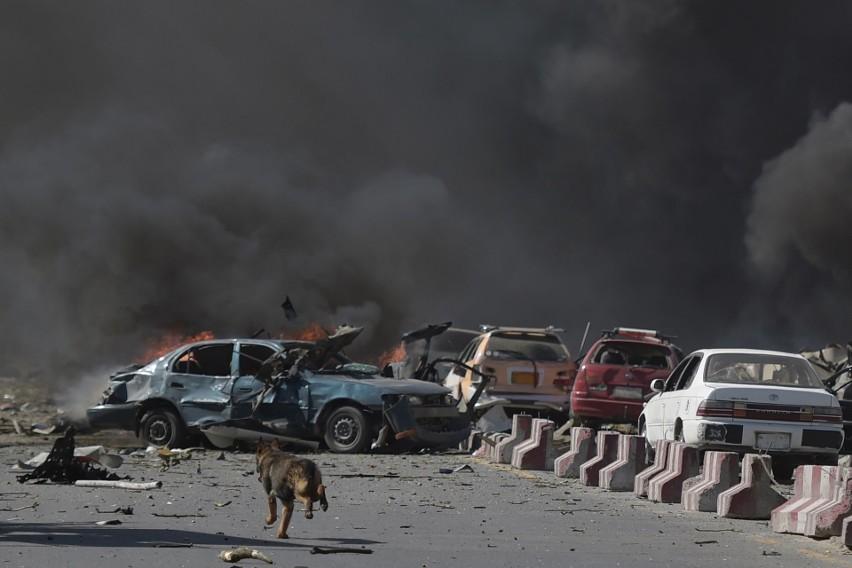 Efekty zamachu w Kabulu