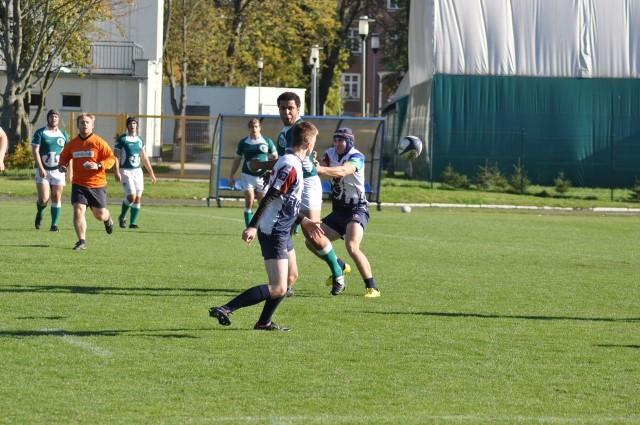 Rugbyści w Szczecinku.