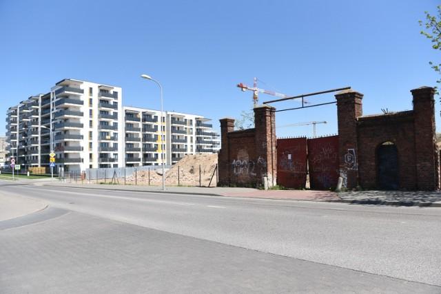 Tak powstaje osiedle na terenie dawnego Tormięsu (maj 2021)Przesuwaj zdjęcia w prawo - naciśnij strzałkę lub przycisk NASTĘPNE